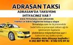 Adrasan Taksi Taksici Taksi Durakları