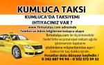 Kumluca Taksi Taksici Taksi Durakları
