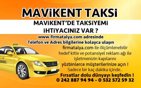 Mavikent Taksi Taksici Taksi Durakları